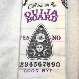 Halloween Kitchen Towels - Ouija Board Design